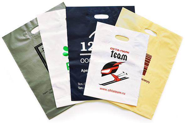 Печать на пакетах ПВХ